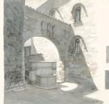 Perugia/Brunnen Erzbischöflicher Palazzo