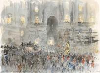 Begräbnis der Kaiserin Zita