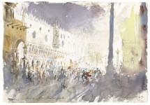 Markusplatz Karneval in Venedig