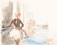 Wien –Ballettsaal Staatsoper