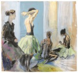 Pause im Ballettsaal
