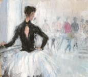"""Staatsoper Wien Ballettprobe zu """"Schwanensee"""""""