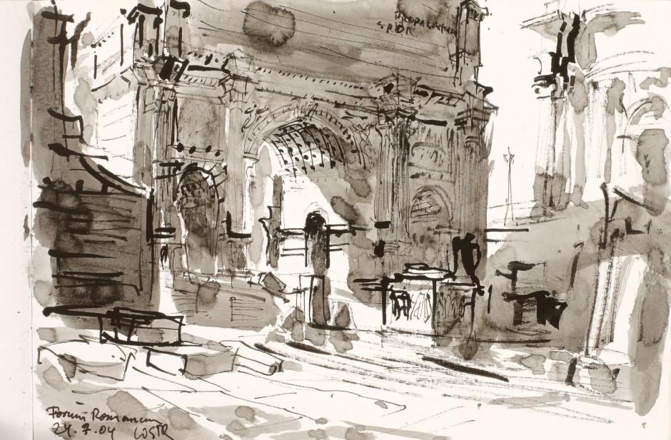 Forum Romanum Triumphbogen des Titus